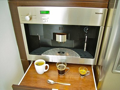 Built In Coffee Maker Reviews : Built In Espresso Machine
