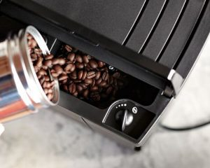 Miele grinder on built in
