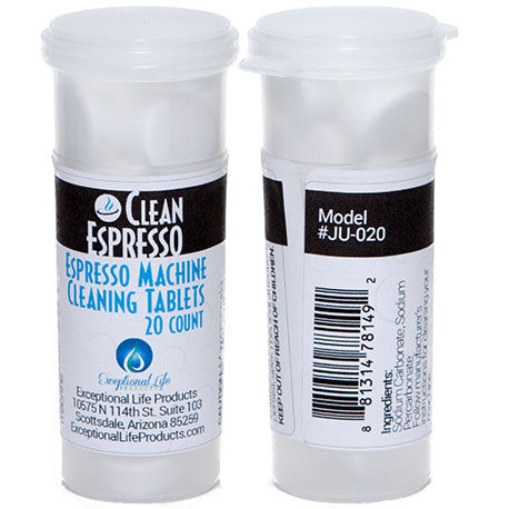 jura 20 pack espresso cleaning tablets