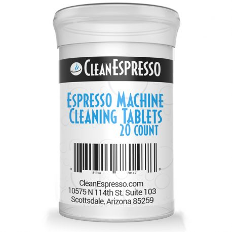20 count espresso machine cleaning tablets