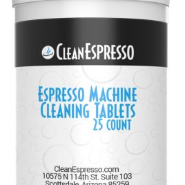 Jura Capresso Espresso Cleaning Tablets Qty 25